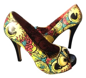 Iron Fist Multi color Pumps
