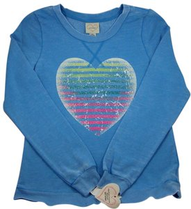 Self Esteem Self Esteem Blue Pullover Top - Size Junior Large