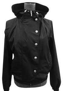 Ralph Lauren Size Medium Coat Black Jacket