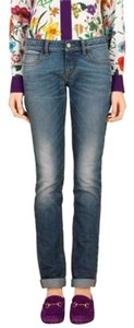 Gucci Joes Womens Wash Bootcut Skinny Jeans