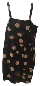 Marc by Marc Jacobs Polka Dot 100% Silk Geometric Dress