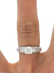 50% OFF EGL Certified 0.60ct F-G SI3 Diamond Engagement Ring Size 6.25