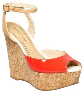 Juicy Couture Red Dafne Sandals