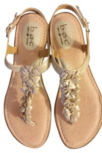 B.O.C. Born Concept Sandal Champagne Leather Sandals