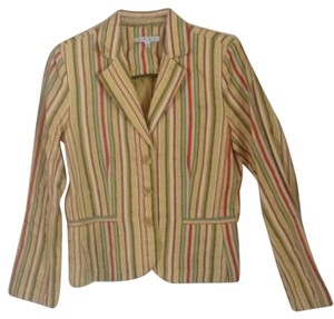 CAbi Yellow green multi Blazer