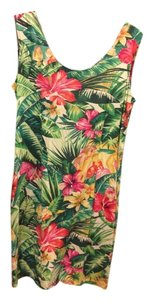 Green,pink and yellow Maxi Dress by Jams World