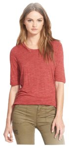 Madewell T Shirt Red