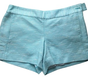 Lilly Pulitzer Mini/Short Shorts Aqua, white