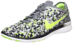 Nike Trainers Free 5.0 Checkered Gray Athletic