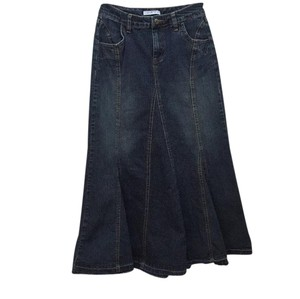 CAbi Maxi Skirt Denim