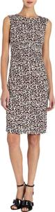 Diane von Furstenberg short dress Leopard Bark Dvf Size0 Silk on Tradesy