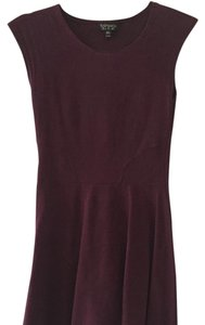 Topshop short dress Dark purple on Tradesy