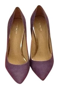Coach Pale purple Pumps