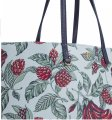 Tory Burch Floral Vintage Large Travel Classic Tote in GREEN multi color Image 1