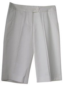 Matthew Williamson Designer Bermuda Shorts Ivory or