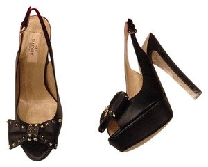 Valentino Black Platforms