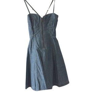 French Connection short dress Denim on Tradesy