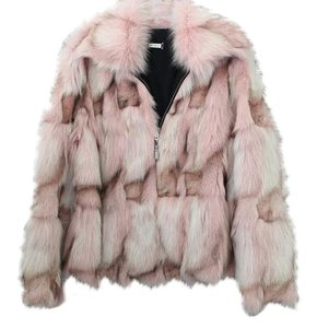St. John Fox Fur Jacket Fur Coat