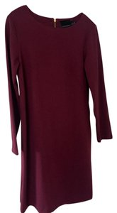 Cynthia Rowley short dress Maroon / Berry on Tradesy