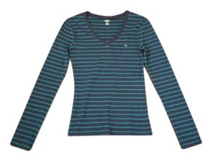 Tommy Hilfiger Top Blue strips
