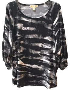 MICHAEL Michael Kors Top Black, white and gray