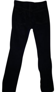 Tory Burch Dark Dark Stretch Straight Leg Jeans-Dark Rinse