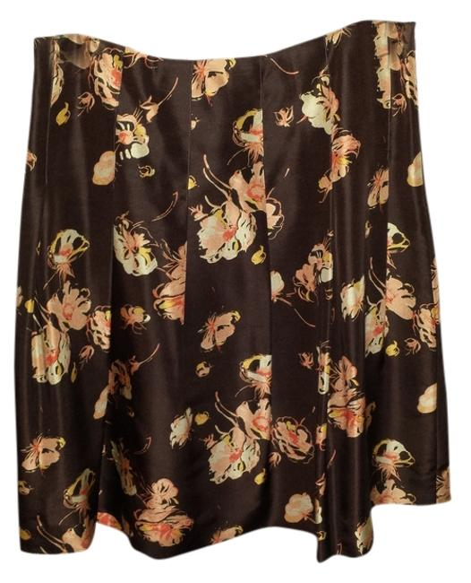 Banana Republic Skirt Brown/Orange