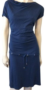 Escada short dress Navy Blue on Tradesy