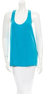 Alexander Wang Silk Top Sky Blue