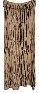 Tart Maxi Skirt Reptile black and gray pattern