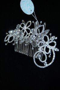 Fashion Jewelry For Everyone Silver Bridal Comb