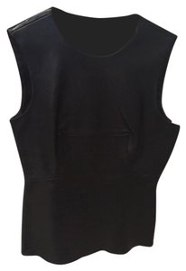 Alexander Wang Top Black Leather