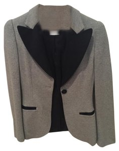 Moschino Grey with Black Blazer
