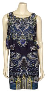 Sandra Darren short dress multi-colored Blouson on Tradesy