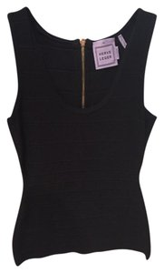 Hervé Leger Going Out Top Black and Pink