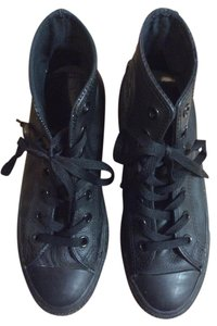 Converse Black Leather Boots