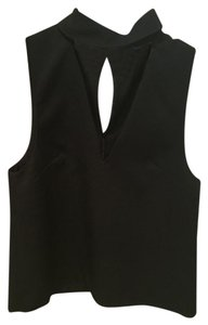 C/meo Collective Cut Out Going Out Top Black and Pink