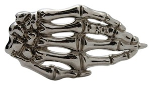 Other Men Fashion Belt Buckle Silver Metal Skeleton Hand Skull Halloween Hip Hop Style