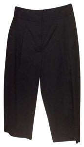 L'AGENCE Pants Cropped Capris Black