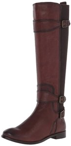 Frye Anna Gore Tall Brown Boots