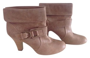 Style & Co Bootie Buckle Chunky Boho Tan Boots