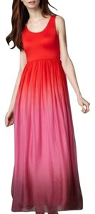 Red / pink Maxi Dress by Alice + Olivia