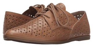 Lucky Brand Oxfords Cut Clay Lace Up Brown' Brown Flats