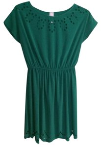 Alya short dress Emerald Green on Tradesy