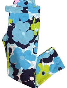 Lilly Pulitzer Capris Turq, Green, White