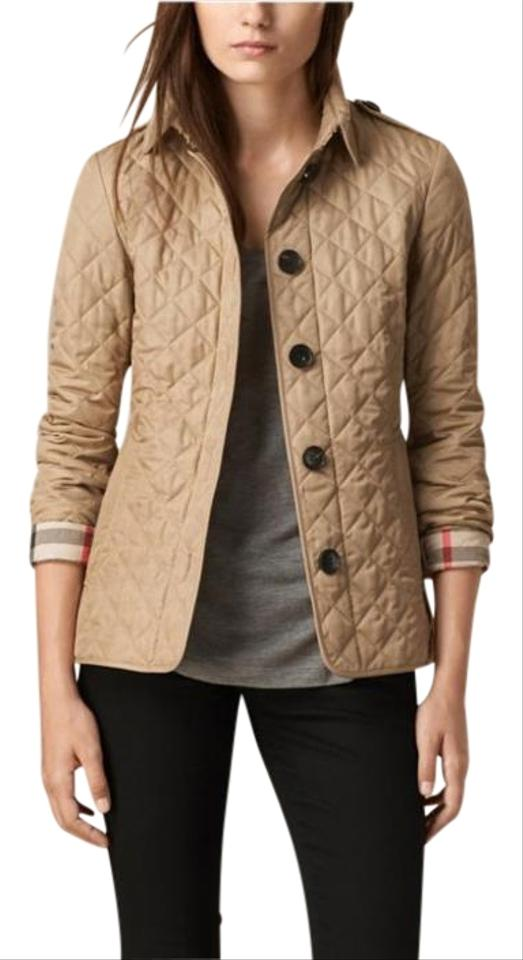Canvas Diamond Quilted Jacket
