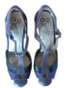 Seychelles Adorable Heels purple and grey Pumps