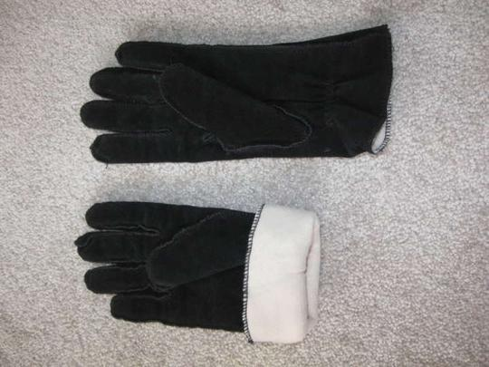 Thinsulate Thinsulate black suede gloves