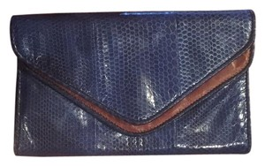 Kotur Kotour Blue Brown Blue/Brown Clutch