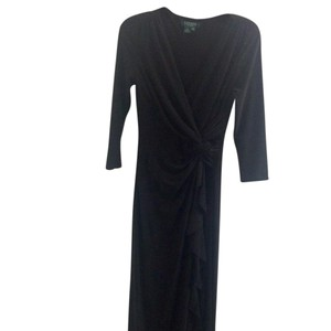 Lauren Ralph Lauren Long Sleeve Slit Dress